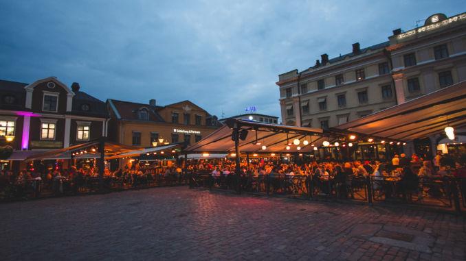 bilden föreställer Stora Hotellet i Linköping