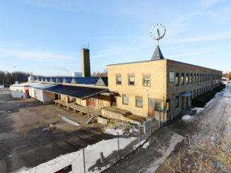 bilden föreställer Återvinningen i Norrköping