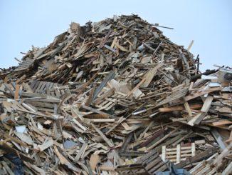 bilden föreställer Malmen återvinning