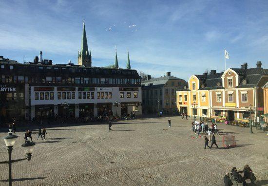 Bilden föreställer platsen för Linköpings blodbad
