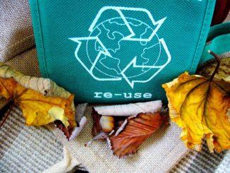 bilden föreställer Ullstämma återvinning