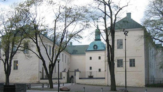 Bilden föreställer Linköpings slott